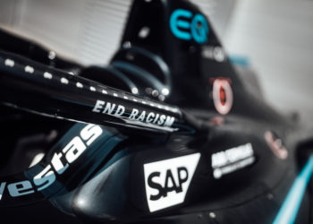 Mercedes-Benz EQ switches to black based livery in support of diversity