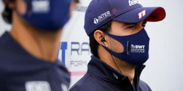 F1 Formula 1 Sergio Perez Racing Point coronavirus covid