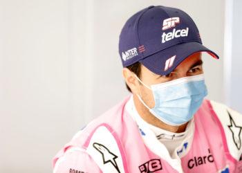 F1 Formula 1 Sergio Perez coronavirus covid Silverstone