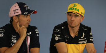 F1 Formula 1 Nico Hulkenberg Renault Racing Point Sergio Perez