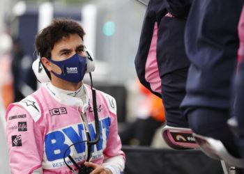 F1 Formula 1 Sergio Perez Racing Point coronavirus