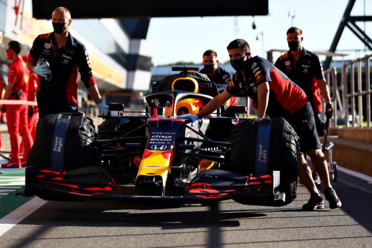 F1 Formula 1 British Grand Prix Silverstone practice FP1