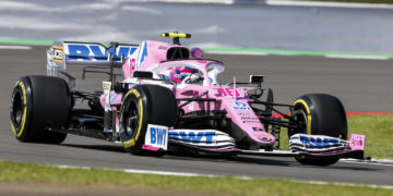 F1 Formula 1 Racing Point lANCE Stroll practice FP2 Silverstone