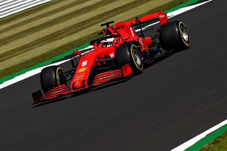 F1 Formula 1 Sebastian Vettel Ferrari British Grand Prix