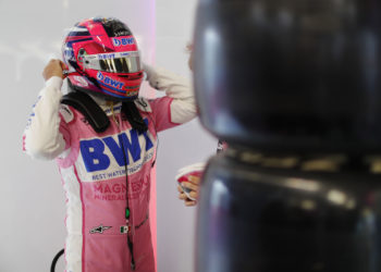 F1 Formula 1 British Grand Prix Sergio Perez Racing Point Otmar Szafnauer
