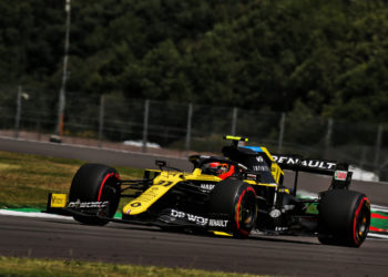 F1 Formula 1 British Grand Prix Silverstone Esteban Ocon Renault
