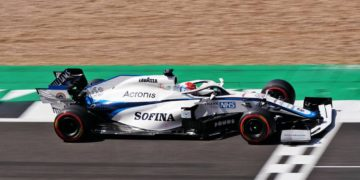 F1 Formula 1 Williams George Russell British Grand Prix