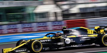 F1 Formula 1 Renault British Grand Prix Ocon Ricciardo