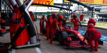 F1 Formula 1 British Grand Prix Ferrari Sebastian Vettel