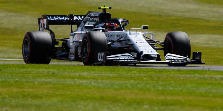 F1 Formula 1 Alpha Tauri British Grand Prix Pierre Gasly