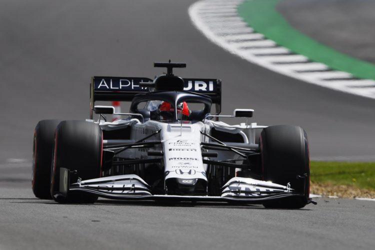 F1 Formula 1 Alpha Tauri British Grand Prix Daniil Kvyat