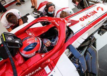 F1 Formula 1 Alfa Romeo Robert Kubica British gRAND Prix 70th Anniversary