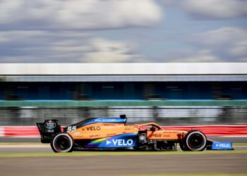 F1 Formula 1 McLaren Results British Grand Prix practice 70th Anniversary