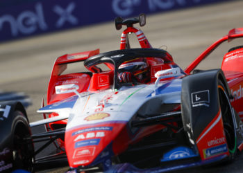 D'Ambrosio fastest in practice as Formula E switches to its second track layout