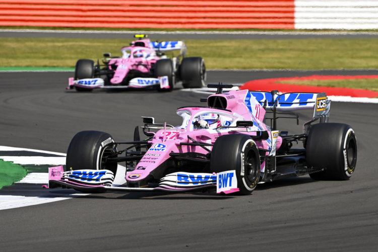 F1 Formula 1 Racing Point brake ducts Silverstone British Grand Prix