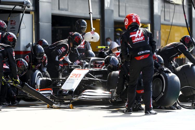 F1 Formula 1 British Grand Prix Silverstone Kevin Magnussen Haas