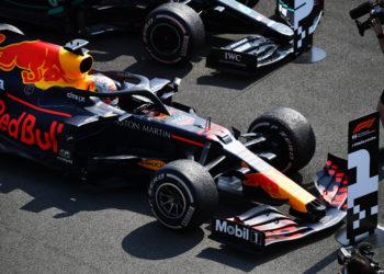 F1 Formula 1 Red Bull Max Verstappen British Grand Prix Silverstone tyre
