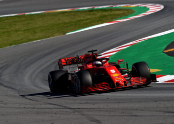 F1 Formula 1 Ferrari Sebastian Vettel Spanish Grand Prix