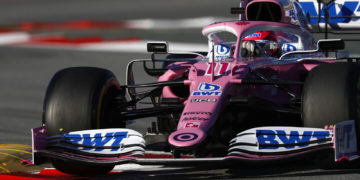 F1 Formula 1 Racing Point results first practice Bottas Hamilton
