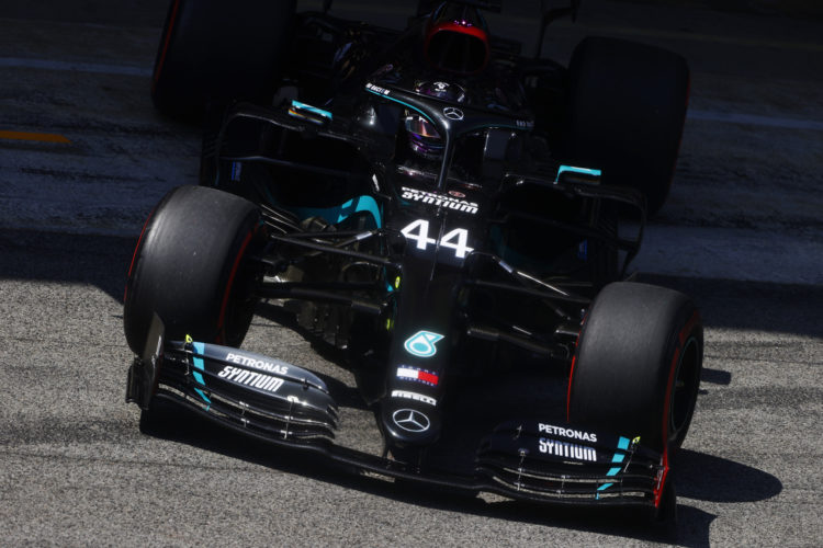 F1 Formula 1 Spanish Grand Prix practice results FP3 Hamilton Ocon