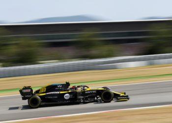F1 Formula 1 Spanish Grand Prix Esteban Ocon Daniel Ricciardo Renault
