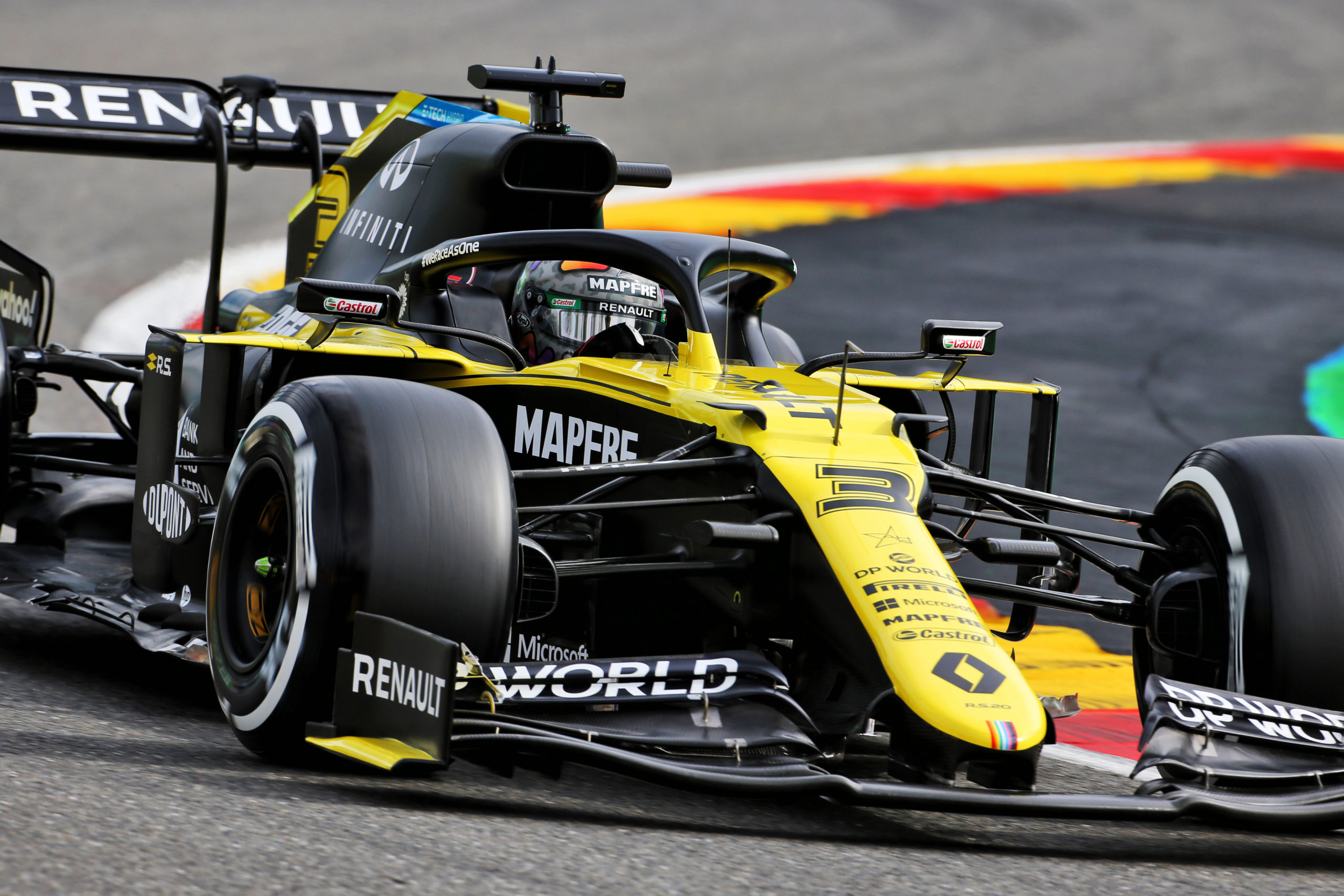 Formula 1 Ricciardo Not Surprised By Strong Practice Showing