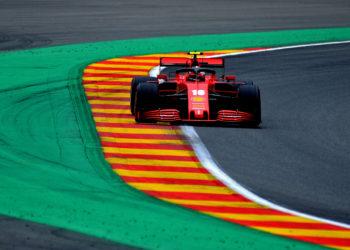F1 Formula 1 Belgian Grand Prix Charles Leclerc Ferrari Vettel