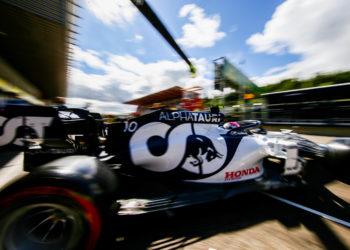 F1 Formula 1 Pierre Gasly Alpha Tauri Belgian Grand Prix Daniil Kvyat