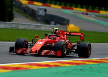 F1 Formula 1 Ferrari Sebastian Vettel Charles Leclerc Belgian Grand Prix qualifying