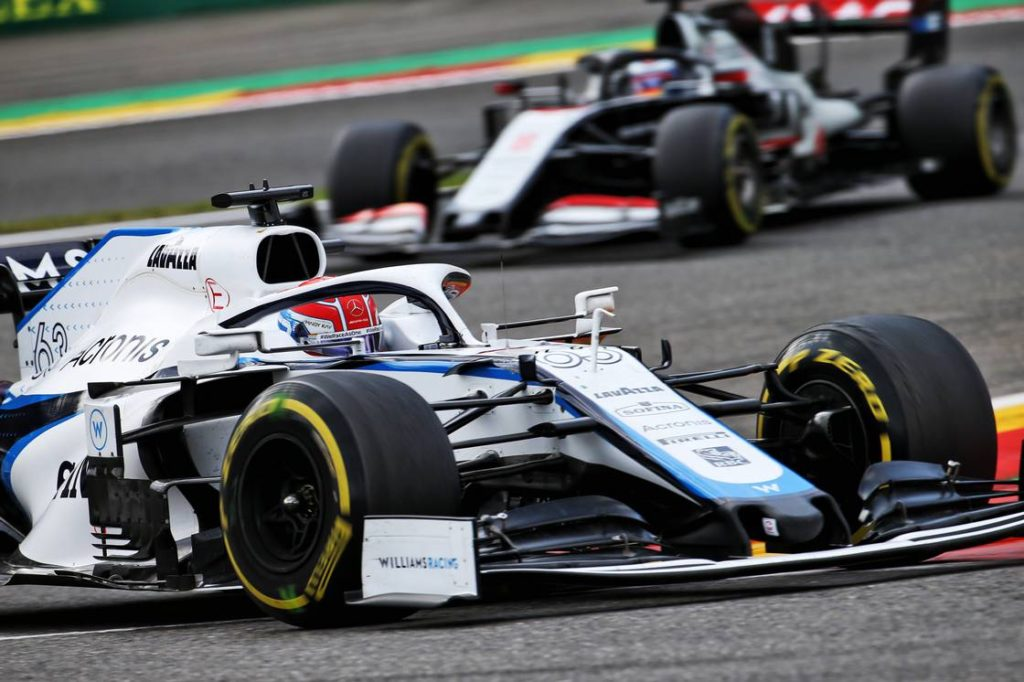 Formula 1 Russell Grateful For Halo After Giovinazzi Crash