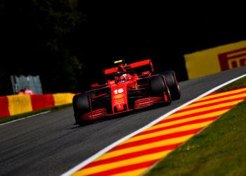 F1 Formula 1 Sebastian Vettel Charles Leclerc Ferrari Belgian Grand Prix