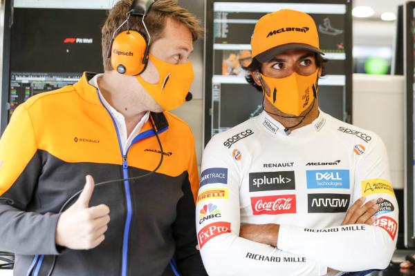 F1 Formula 1 McLaren Carlos Sainz Belgian Grand Prix Ferrari