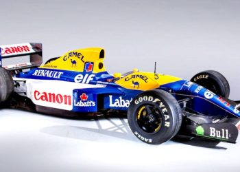 F1 Formula 1 Sebastian Vettel Williams FW14B Nigel Mansell