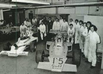 F1 Formula 1 McLaren Ray Rowe Tex Italian Grand Prix