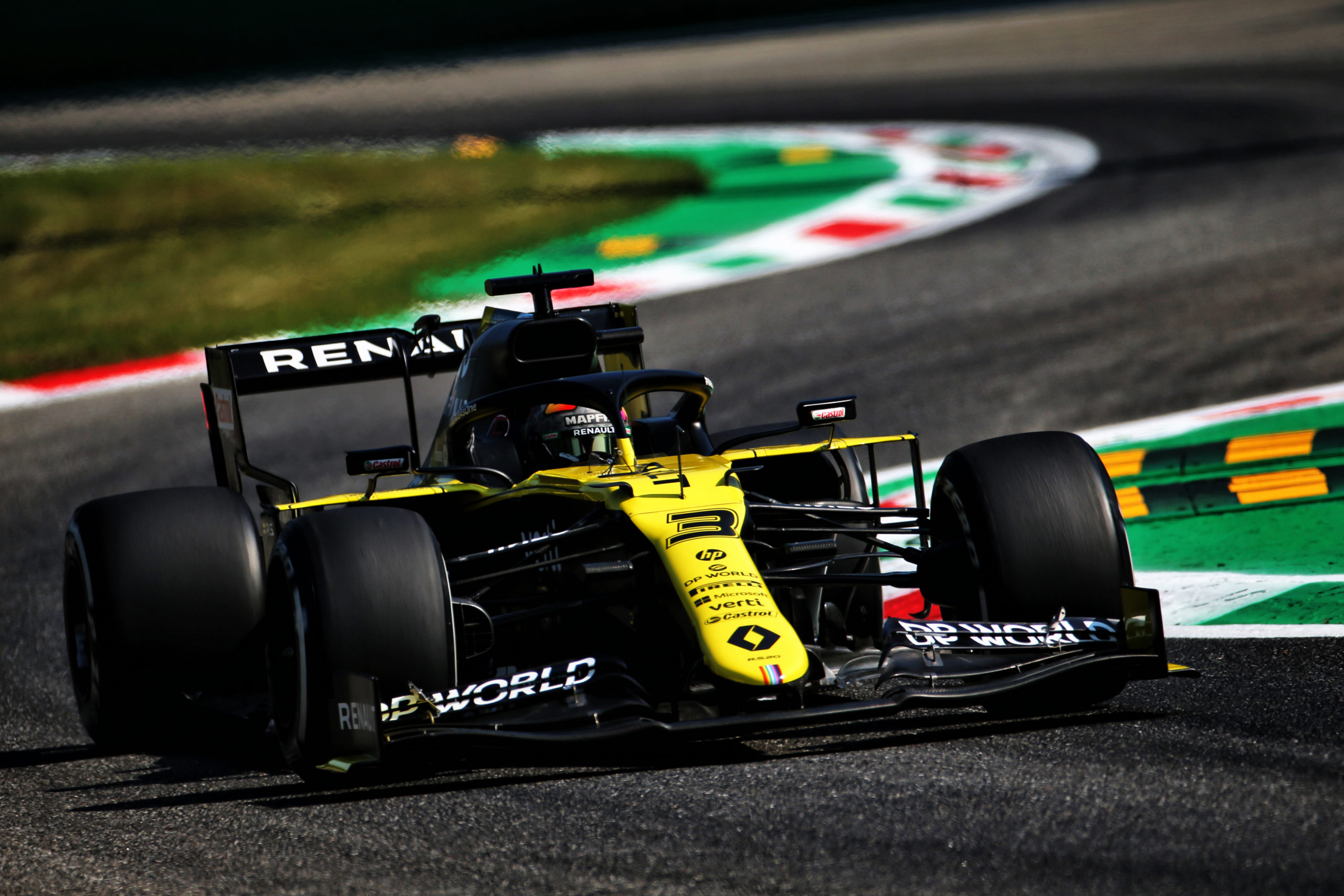 Formula 1 Fp1 First Practice Results Italian Grand Prix