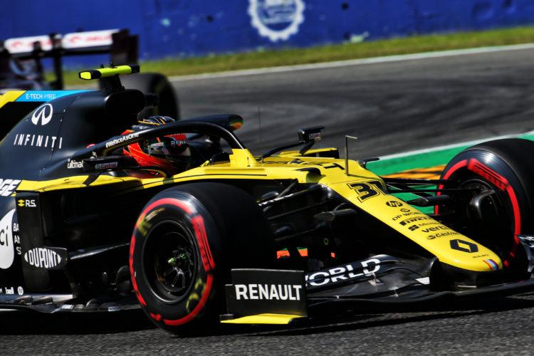 F1 Formula 1 Italian Grand Prix Renault Esteban Ocon Kimi Raikkonen Alfa