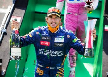 F1 Formula 1 Carlos Sainz McLaren Italian Grand Prix Pirelli