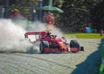 F1 Formula 1 Charles Leclerc Ferrari Italian Grand Prix