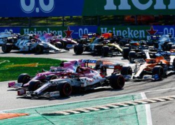 F1 Formula 1 Italian Grand Prix reverse grid