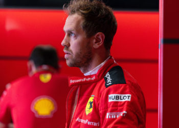 F1 Formula 1 Sebastian Vettel Ferrari Tuscan Grand Prix