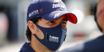 F1 Formula 1 Sergio Perez Racing Point Aston martin