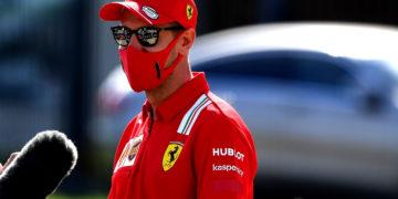 F1 Formula 1 Ferrari Sebastian Vettel Sergio Perez Ferrari Racing Point Tuscan Grand Prix