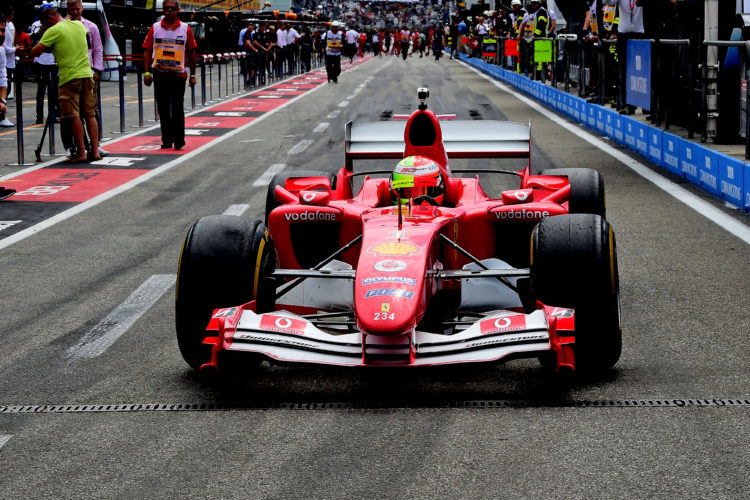 F1 Formula 1 Mick Schumacher Ferrari F2004 Michael