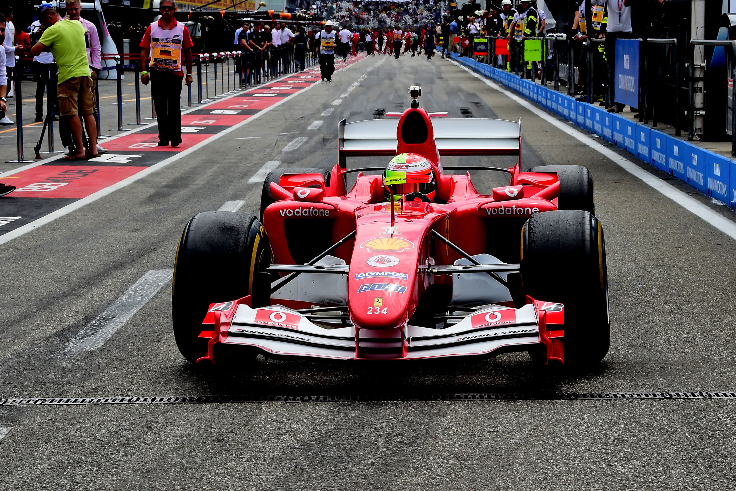 Formula 1 Schumacher To Drive Michael S F2004 On Sunday
