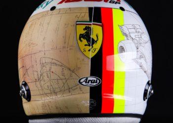 F1 Formula 1 helmet designs Tuscan Grand Prix