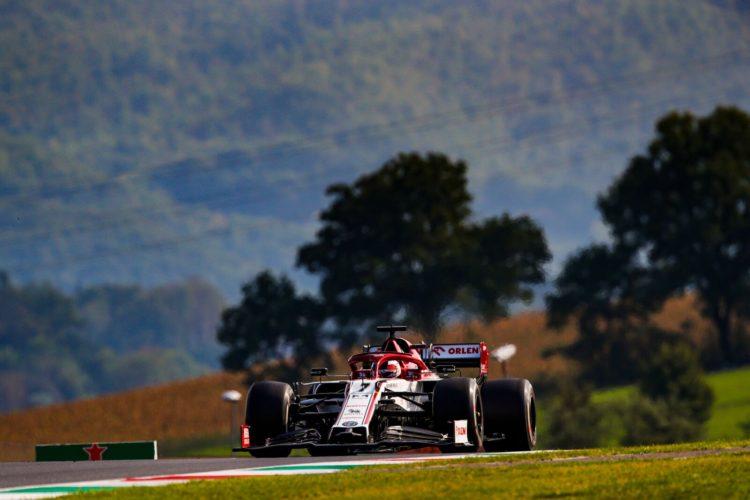 F1 Formula 1 Alfa Romeo Tuscan Grand Prix results qualifying