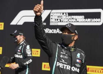 F1 Formula 1 Lewis Hamilton Tuscan Grand Prix Mercedes qualifying