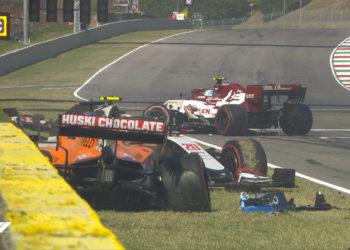 F1 Formula 1 Mugello Tuscan Grand Prix red flag crash