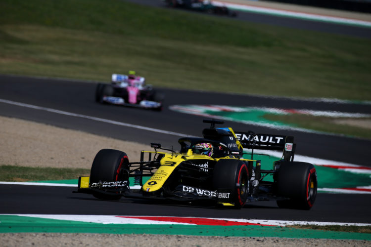 F1 Formula 1 Tuscan Grand Prix Race results