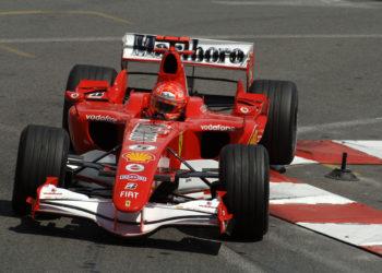F1 Formula 1 Michael Schumacher Ferrari Monaco 2006 Felipe Massa Ross Brawn